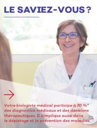 Le biologiste médical : un spécialiste au service de votre santé